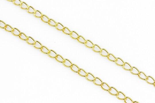 Lant auriu 3,5x5,5mm (49cm)