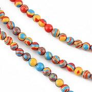 Compozit multicolor sfere 4mm (10 buc.)