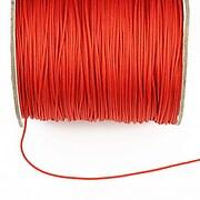 Snur nylon cu guta in interior grosime 1mm (1m) - rosu