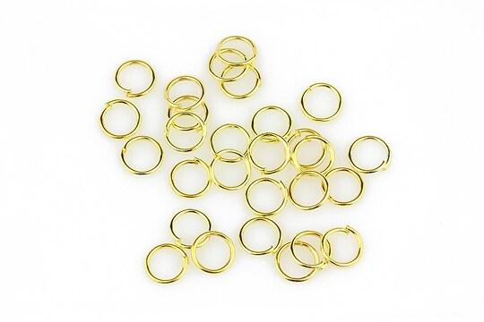 Zale aurii 6mm (grosime 0,7mm) 10 grame