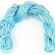 Ata nylon, grosime 2mm, 12m, bleu