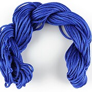 Ata nylon, grosime 2mm, 12m, albastru cobalt