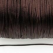 Snur nylon satinat grosime 1mm (10m) - maro