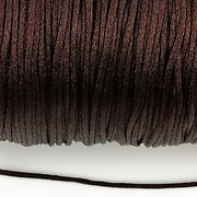 Snur nylon satinat grosime 1,5mm (5m) - maro