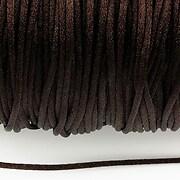 Snur nylon satinat grosime 2mm (5m) - maro