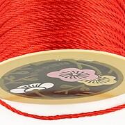 Snur nylon impletit grosime 2mm (1m) - rosu