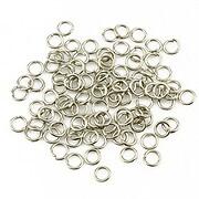Zale argintiu inchis 4mm (grosime 0,7mm) 10 grame