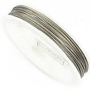 Sarma siliconata argintie grosime 0,60mm, rola de 45m