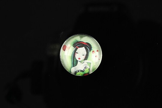 "Cabochon sticla 18mm ""Fairy tale"" cod 067"