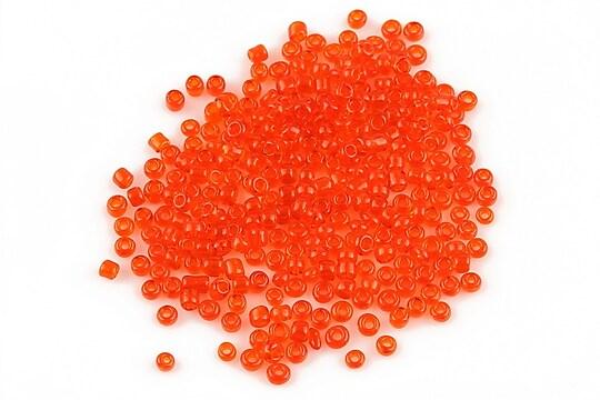 Margele de nisip 2mm (50g) - cod 034 - portocaliu