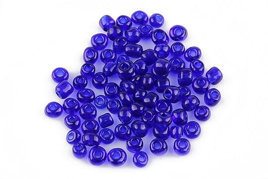 Margele de nisip 4mm (50g) - cod 057 - albastru cobalt