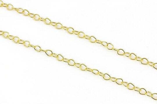 Lant auriu 4,5x5,3mm (49cm)