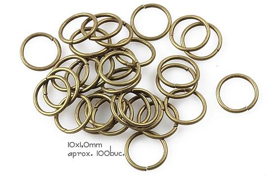 Zale bronz 10mm (grosime 1,0mm)