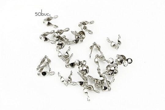 Capat de nod argintiu inchis (50buc.)