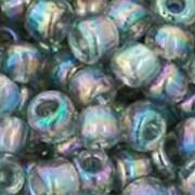 Margele Toho rotunde 6/0 - Trans-Rainbow Black Diamond
