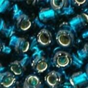 Margele Toho rotunde 6/0 - Silver-Lined Teal