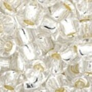 Margele Toho rotunde 6/0 - Silver-Lined Crystal