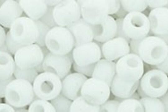 Margele Toho rotunde 6/0 - Matte-Color Opaque White