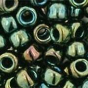Margele Toho rotunde 6/0 - Metallic Iris Green/Brown