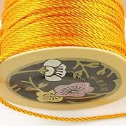 Snur nylon impletit grosime 2mm (1m) - portocaliu deschis