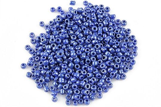Margele de nisip 2mm lucioase (50g) - cod 354 - albastru