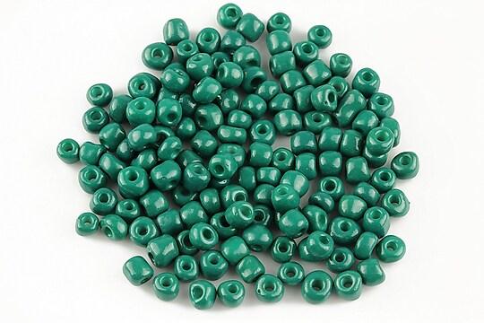Margele de nisip 4mm (50g) - cod 372 - verde pin