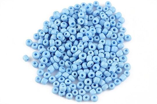 Margele de nisip 3mm opace (50g) - cod 394 - albastru deschis