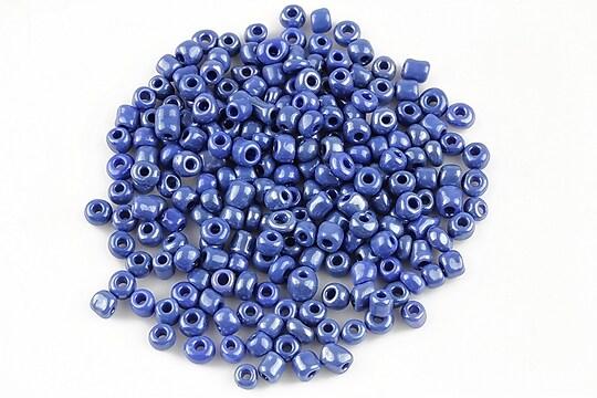 Margele de nisip 3mm lucioase (50g) - cod 413 - albastru