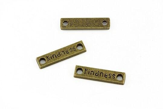 Link bronz Kindness 22x5mm