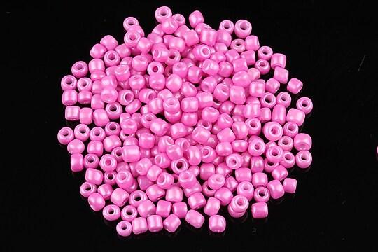 Margele de nisip lucioase 3mm (50g) - cod 479 - roz
