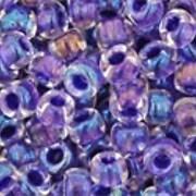 Margele Toho rotunde 8/0 - Inside-Color Rainbow Crystal/Tanzanite Lined