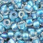 Margele Toho rotunde 8/0 - Inside-Color Rainbow Crystal/Light Capri