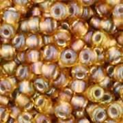 Margele Toho rotunde 11/0 - Gold-Lined Rainbow Topaz