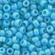 Margele Toho rotunde 11/0 - Opaque-Rainbow Blue Turquoise