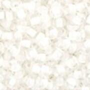 Margele Toho rotunde 11/0 - Inside-Color Crystal/Snow Lined