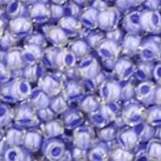 Margele Toho rotunde 11/0 - Inside-Color Crystal/Lupine Lined