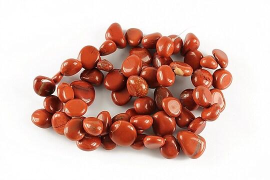 Sirag jasp rosu nuggets 9-14x7-10mm