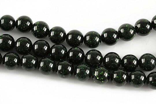 Green Goldstone sfere 8mm