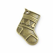 Charm (pandantiv) bronz soseta 32x20mm