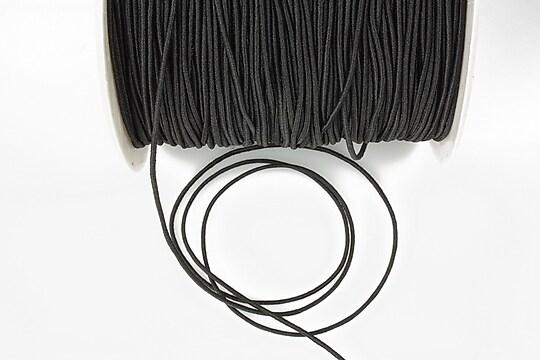 Elastic 1mm - negru (1m)