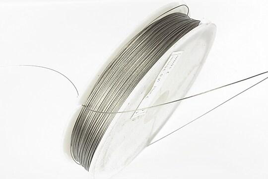 Sarma siliconata argintie grosime 0,35mm, rola de 50m