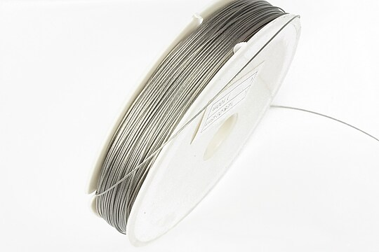 Sarma siliconata argintie grosime 0,45mm, rola de 100m