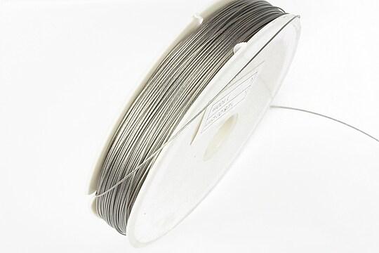Sarma siliconata argintie grosime 0,45mm, rola de 50m