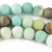 Amazonite sfere frosted 10mm