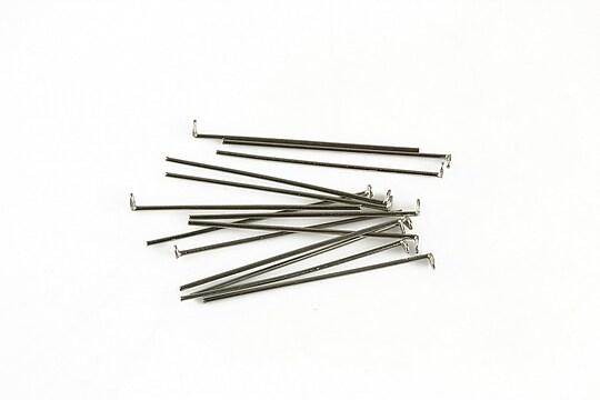 Ace cu cap otel inoxidabil 2,5cm, grosime 0,6mm (50 buc.)