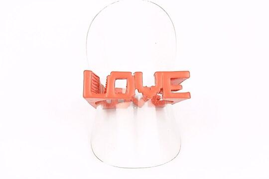 Inel Love corai (marimea 18)