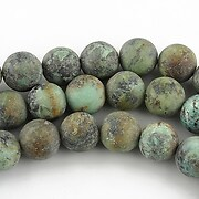 Turcoaz african frosted sfere 8mm