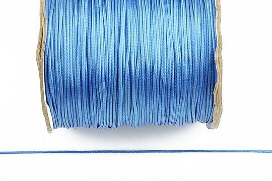 Snur cerat grosime 0,8mm, albastru (10m)