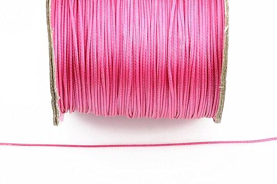 Snur cerat grosime 0,8mm, roz fucsia (10m)
