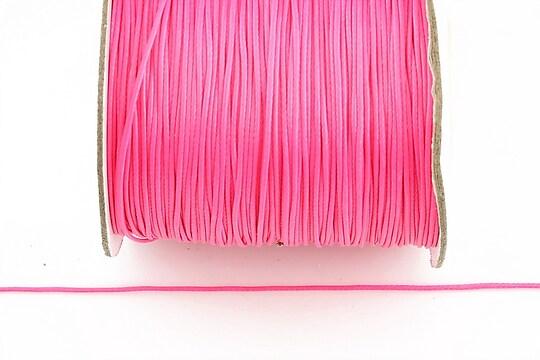 Snur cerat grosime 0,8mm, roz neon (10m)